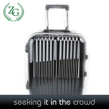 Modern Black PC + ABS luggage , Business Travel Luggage for men
