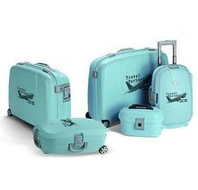 PP plastic travel luggage; trolley case,eminent luggage,luggage set plastic bag
