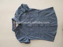 las niñas vestidos lindo ronda de impresión de vestidos cortos de mini faldas de moda los niños summar de algodón dreses varios camisas de cambray