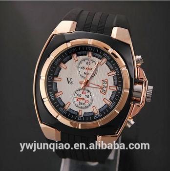 Hot Selling Brand Watch Man V6 Vogue Watch