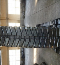Rubber belt, excavator parts, mini excavator rubber tracks used