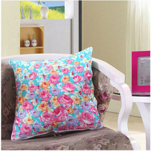 2014 hot sale transfer printing fashion double sleeping pillow