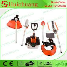 CE/GS/EURO-II multi-function brush cutter 4 in 1 brush cutter chain saw