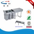 trash can pencil holder industrial plastic bin kitchen sinks cabinet