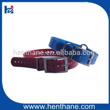 2014 high quality can be customized making TPU/PVC dog collar