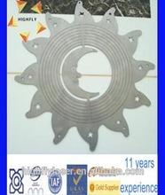 stainless steel metal plate laser cut t