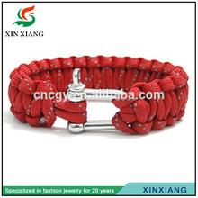 High Quality Handmade Outdoors Survival Ems Survival Bracelet