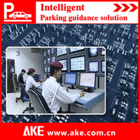 2014 AKE ulstasonic and HD camera detector series car parking management system