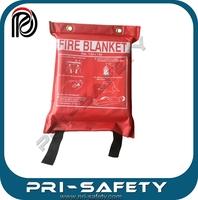 High quality fire blanket EN1869 coated fiberglass fire blanket