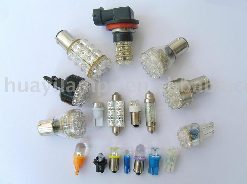 Automotive LED bulb, led auto light, auto led