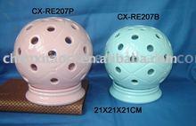 LED hurricane lamp-porcelain lamp-porcelain wind lantern