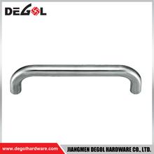 stainless steel shower glass pull handle sliding door