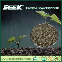 Hot sales! bamboo powder bio organic fertilizer with EM