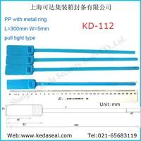 300mm plastic luggage lock KD-112 Plastic seal