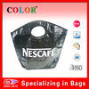 high quality black pp woven bag , environment friendly bag, bags for NESCAFE