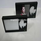 Black Acrylic calendar with photo frame display box