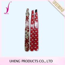 Customized pattern stainless steel eyebrow tweezers