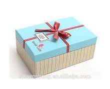 Custom design fancy paper box wallet gift box