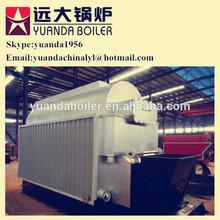 3 pass fire water tube biomass coal boiler