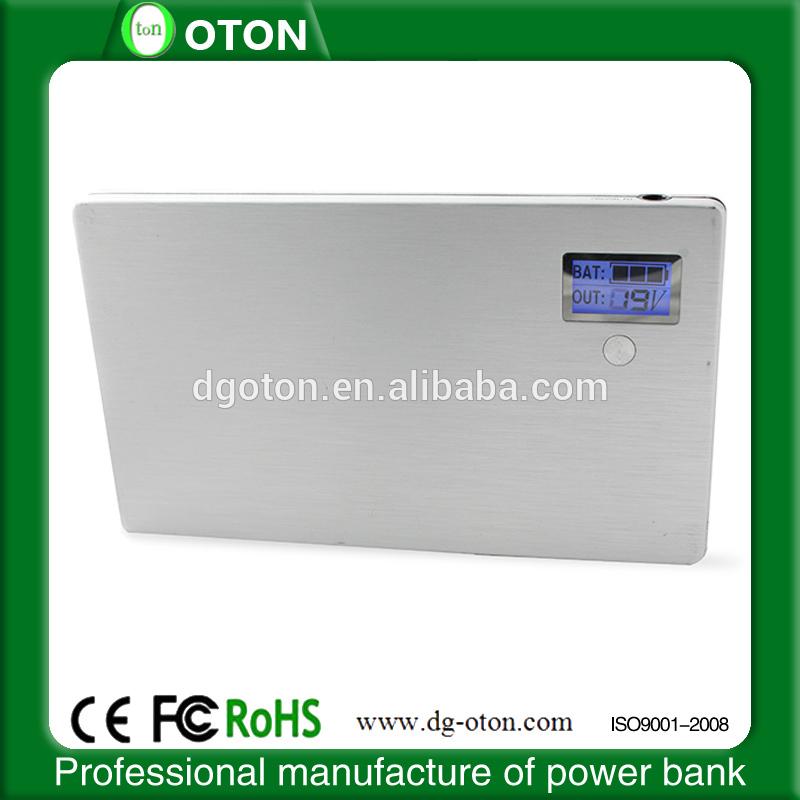 LCD digital indicator 20000 mAh power bank for macbook pro