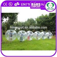 HI human size zorb football/inflatable bumper bubble football/soccer bubble ball