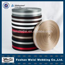 Custom jacquard eco-friendly 100% polyester cotton elastic webbing belt