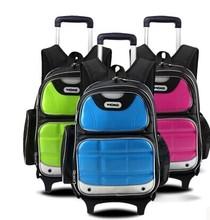 Factory Price Best Seller lead /Phthalate free Kids Trolley School Bag
