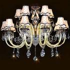 Luxury indoor glass syphon chandelier light