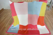 super soft baby organic cotton throw blanket