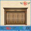 JK-C9017 Exterior imitated copper door/security main door/ front copper door