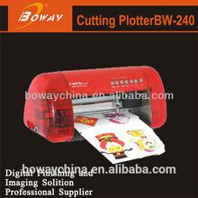 BW-240 desktop A4 vinyl printer plotter cutter