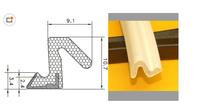 Favorites Compare EPDM density rubber v seal