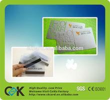 Plastik kart/şeffaf kartvizit baskı makinesi