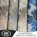 100 polyester jacquard damassé inde accessoires pour la maison rideaux
