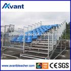 Aneasy indoor outdoor retractable gym equipment bleacher stadium seat plastic chair