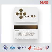 MDC0459 magnetic plastic loyalty card for magnetic stripe card reader writer