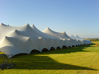 Waterproof stretch tent for outdoor wedding/ camp/party in china