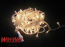 New product Hotsale christmas led lights 100V WARM WHITE LED String fairy, christmas led string light