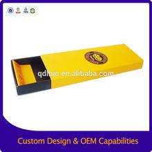 Custom printed design slide drawer paper box , cardboard box