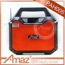 fm radio, recording and bluetooth wireless active speaker
