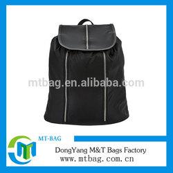 2014 High quality new stylish black leisure lady backpack