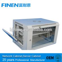 4U 6U 9U 12U IT Server Data Network Rack Glass Door Locking 6U Wall Mount Cabinet Enclosure