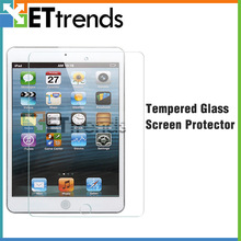 0.3mm 2.5d ultra clear glass screen protector for ipad mini 2
