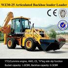 cheap china backhoe, WZ30-25,optional cummins engine,joystick control