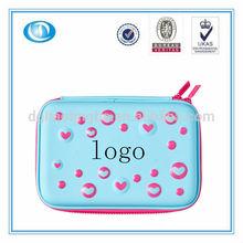 LT-4731D Plastic Pink Zipper Pencil Case With Compartment