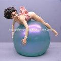 Hot tanzende ballerina sexy nude action-figuren