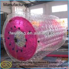 Amazing PVC/TPU hot water hair roller,inflatable water roller,water walking rollers