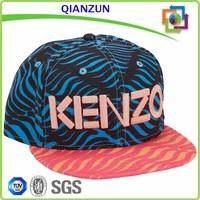 Free Minion Zebra Stripe Snapback Hat Material For Snapback Cap