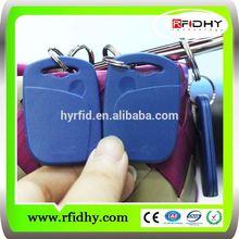 hot sale club identification HF 13.56mhz rfid keyfob tag