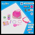 beleza brinquedoseletrônicos conjunto para as meninas com luzes e sons de telefone conjunto